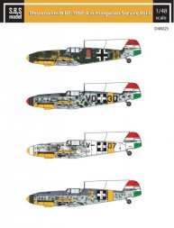 Bf 109F-4 in Hungarian Service Vol.2 1:48