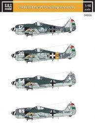 Focke-Wulf Fw 190 F-8 in Hungarian Service 1:48