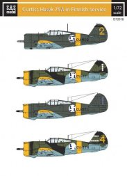Curtiss Hawk 75A in Finnish Service 1:72