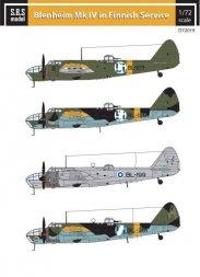 Bristol Blenheim Mk. IV. in Finnish Service 1:72