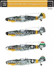 Bf 109G-6 in Hungarian Service VOL.I 1:72