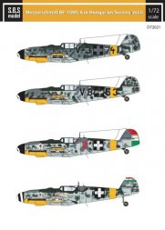 Bf 109G-6 in Hungarian Service VOL. II 1:72