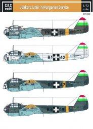 Junkers Ju 88 in Hungarian Service 1:72