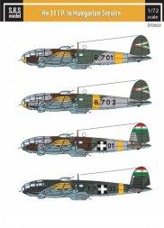 Heinkel He 111 P in Hungarian Service 1:72