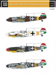 Bf 109F in Hungarian Service VOL.I 1:72