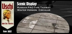 Russian PAG-Type Taxiway Winter Version (rund) 1:72