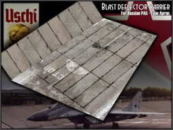 Russian PAG-Type Taxiway Winter Version w/ Blast Wall 1:72