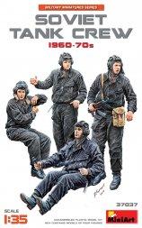 Soviet Tank Crew 190-70s 1:35