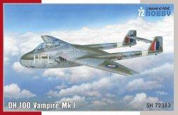 de Havilland D.H.100 Vampire Mk.I 1:72