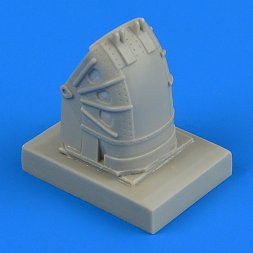 Su-27 Flanker front wheel fender - early 1:48