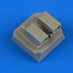 Wellington Mk. Ic air scoops for Airfix 1:72