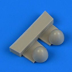 Wellington Mk. Ic propeller spinners for Airfix 1:72