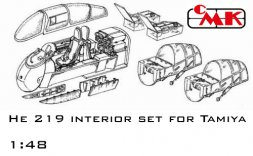 He 219 UHU - interior set for Tamiya 1:48