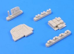 Ju 88A Bulkhead w/ radio sets (MG 15 position) 1:48