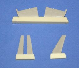 L-39 Albatros Tail control surfaces for Eduard 1:72