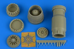 MiG-27 Flogger early exhaust nozzle -opended 1:48