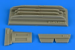 Su-17/22 M3/M4 Fitter K louded chaff/flare dispensers (H.B.) 1:48