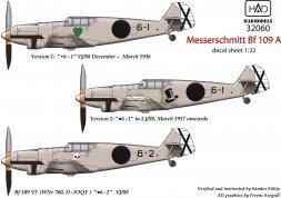Messerschmitt Bf 109A 1:32