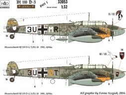 Bf 110D-3 in Afrika - part.1 1:32