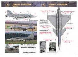 JAS-39C/D Gripen 1:32