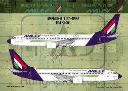 Boeing 737-800 Malev 1:144