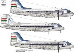 IL-14M Hungarian service 1:144