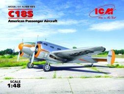Beechcraft C18S - Passenger Aircraft 1:48