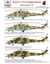 Mil Mi-24 in Hungarian Service 1:72