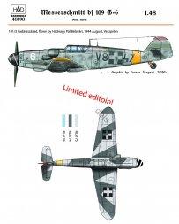 Bf 109G-6 - Hadnagy Pal Belevari 1:48