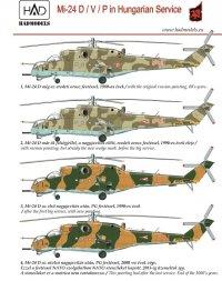 Mil Mi-24 in Hungarian Service 1:48