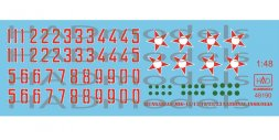 Hungarian National insignias (Stars and Numbers) 1:48