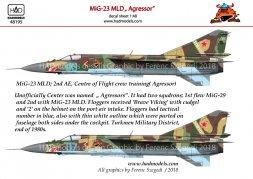 MiG-23 MLD Russian - Agressors 1:48