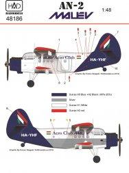 An-2 Malev Aero Club 1:48