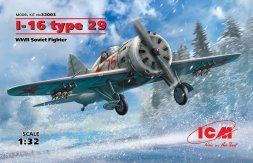 I-16 type 29, WWII Soviet Fighter 1:32