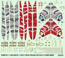 F-16C/D Block 52+ - Polish Tiger Meet 2013/14 1:48