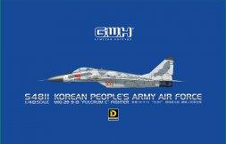 MiG-29 9-13 Fuclcrum C - North Korea AF 1:48