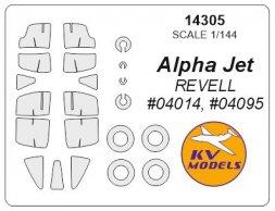 Alpha Jet mask for Revell 1:144