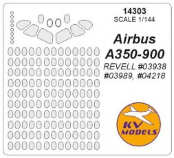 Airbus A350-900 mask for Revell 1:144