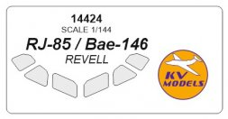 BAe 146/ RJ-85 mask for Revell 1:144