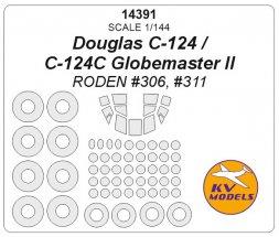 C-124 Globemaster mask for Roden 1:144