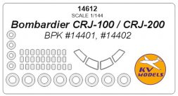 CRJ-100/ CRJ-200 mask for BPK Models 1.144