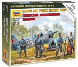 Soviet Air Force Ground Crew WWII 1:72