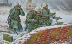 MG 34 with Crew (winter) 1:72