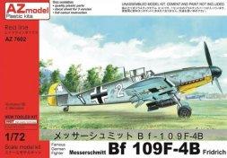 Messerschmitt Bf 109F-4B Friedrich 1:72