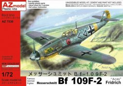 Messerschmitt Bf 109F-2 Fridrich - Aces 1:72