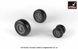 Panavia Tornado wheels w/ weighted tires, type.1 1:32