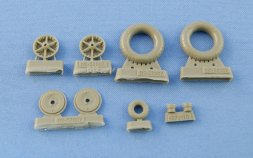 Messerschmitt Bf 109 B.C.E (early) wheels 1:32