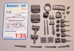 T-35 External parts for Zvezda 1:35