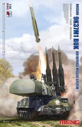 9K37M1 Buk Air Defense Missile System 1:35