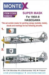 Fw 190A-8 Super Mask for Hasegawa 1:48